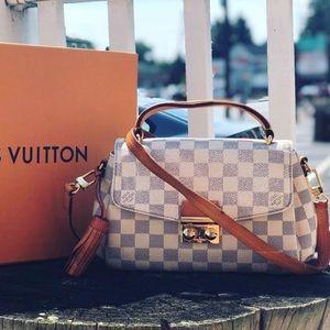 Louis Vuitton croisette Azur Crossbody Bag Damien